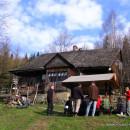 Beskid Mały 16-17.04.2011 - Niedziela Palmowa na Leskowcu