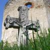 Cmentarz przy dawnej cerkwi w Hucie Różanieckiej fot. M.Szymoniak