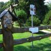 Crazy village / Wooden sculptures